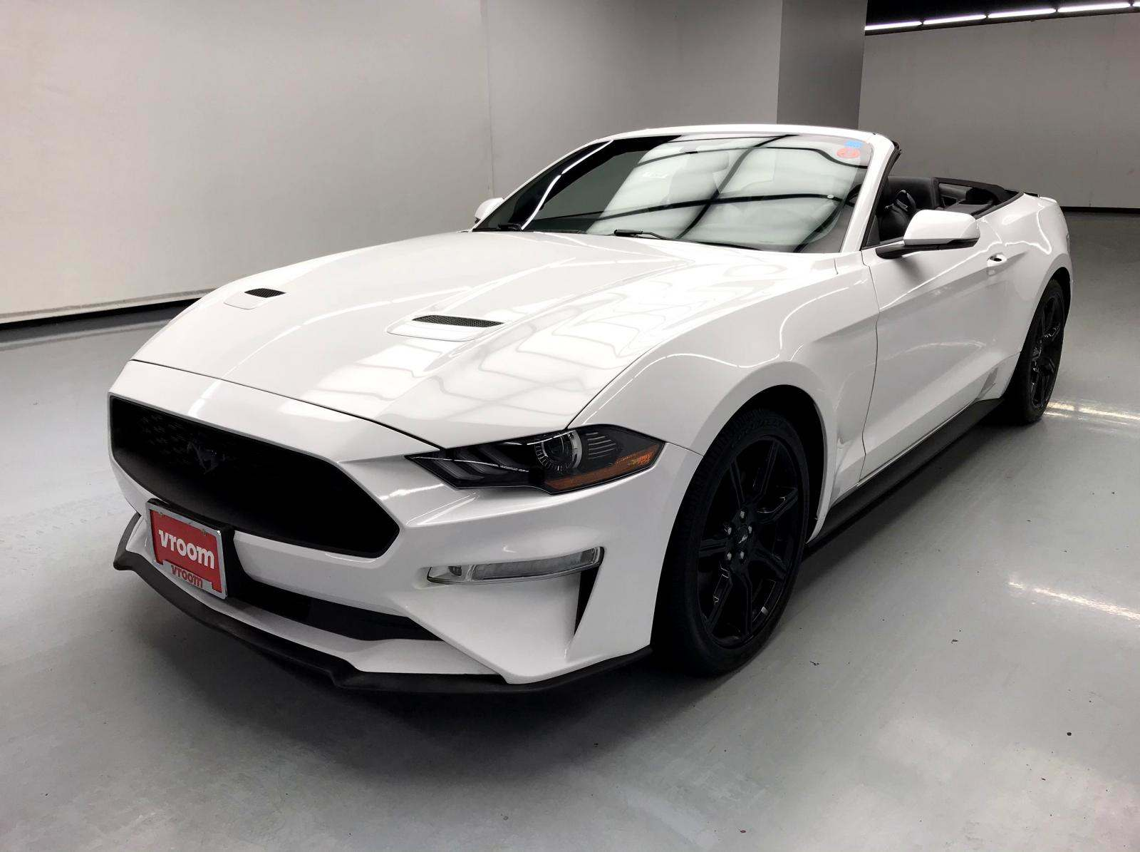 used Ford Mustang 2018 vin: 1FATP8UHXJ5124553