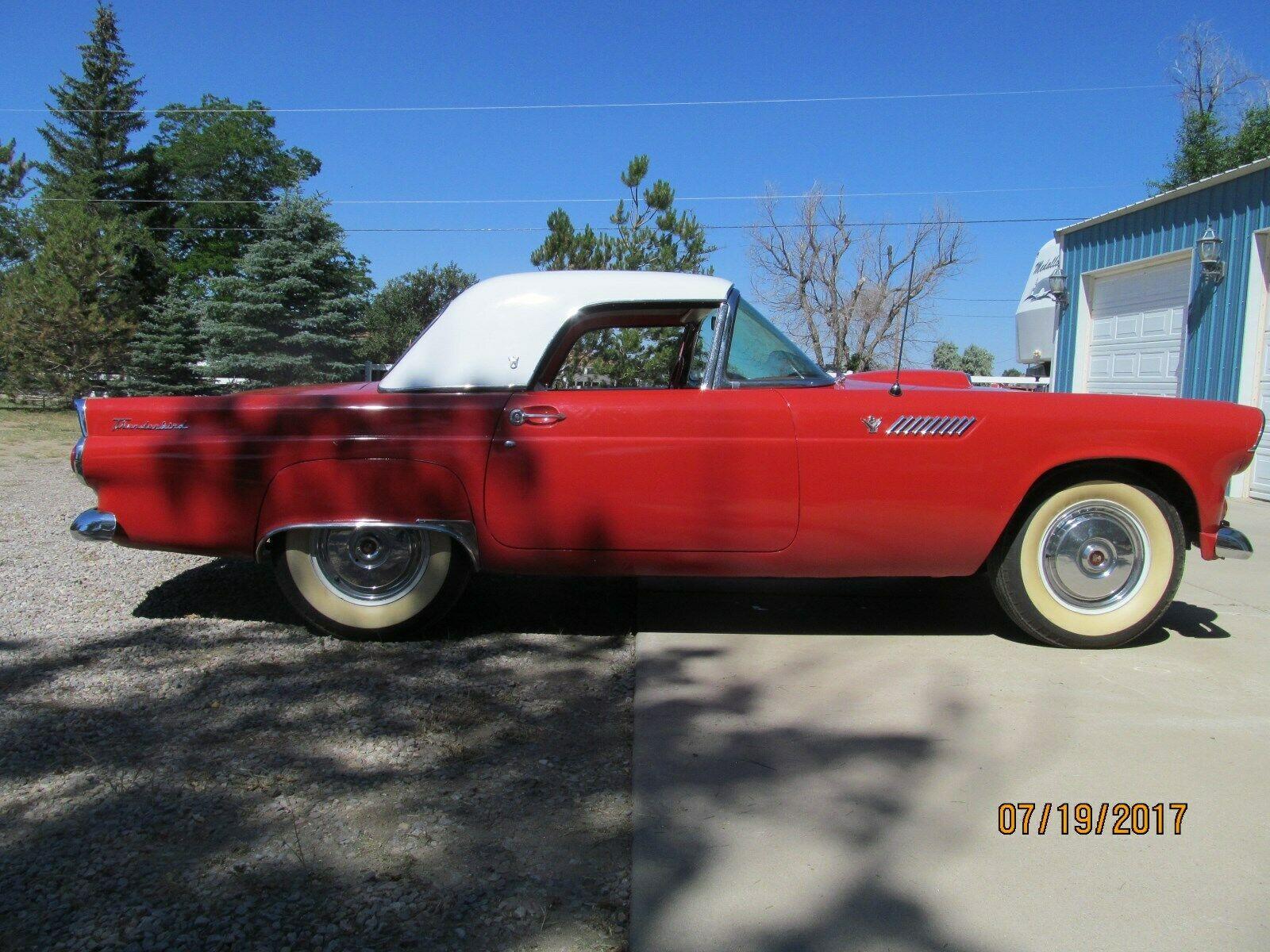 Ford Thunderbird 1955 $12300.00 incacar.com