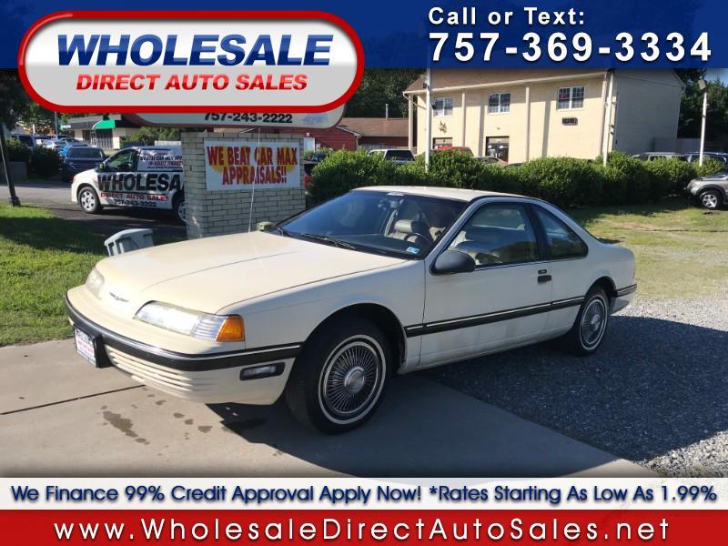 Ford Thunderbird 1989 $3995.00 incacar.com