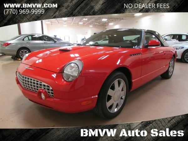 Ford Thunderbird 2002 $23500.00 incacar.com