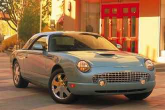 used Ford Thunderbird 2002 vin: 1FAHP60A62Y109194