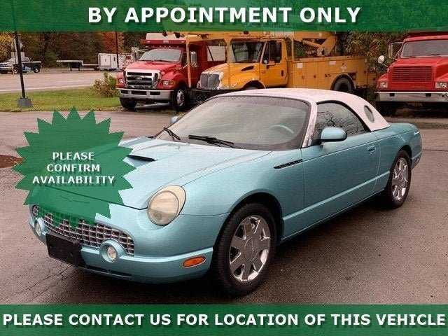 used Ford Thunderbird 2002 vin: 1FAHP60A12Y110561
