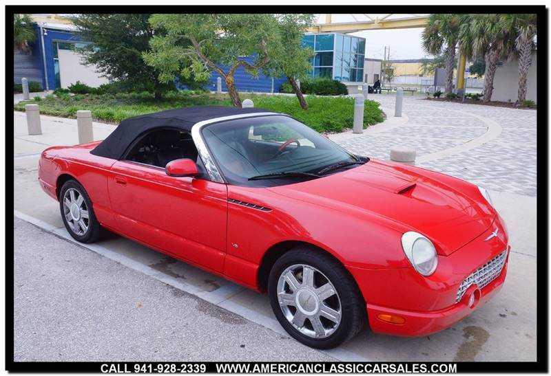 Ford Thunderbird 2004 $10500.00 incacar.com