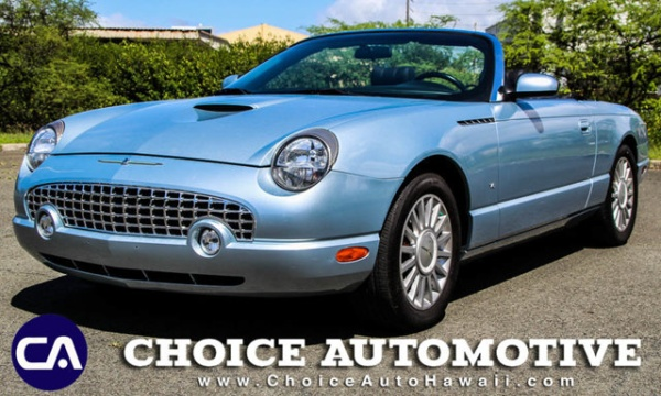 used Ford Thunderbird 2004 vin: 1FAHP60A74Y111930