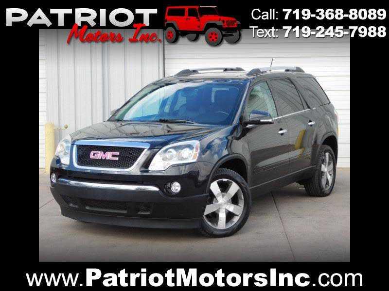 GMC Acadia 2012 $11988.00 incacar.com