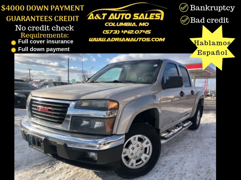 GMC Canyon 2004 $4999.00 incacar.com
