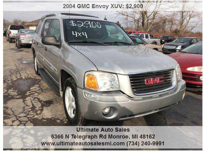 GMC Envoy 2004 $2900.00 incacar.com