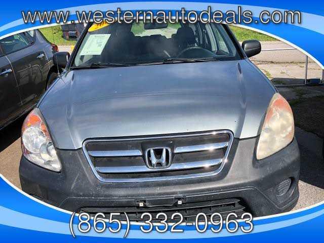 used Honda CR-V 2006 vin: JHLRD78596C004448
