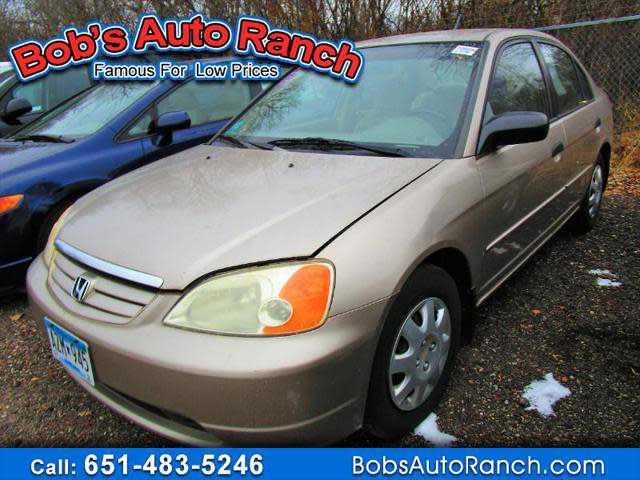 Honda Civic 2001 $995.00 incacar.com