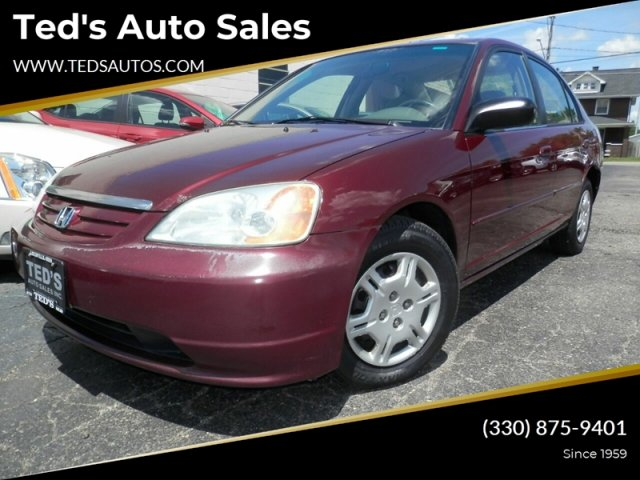 Honda Civic 2002 $2400.00 incacar.com