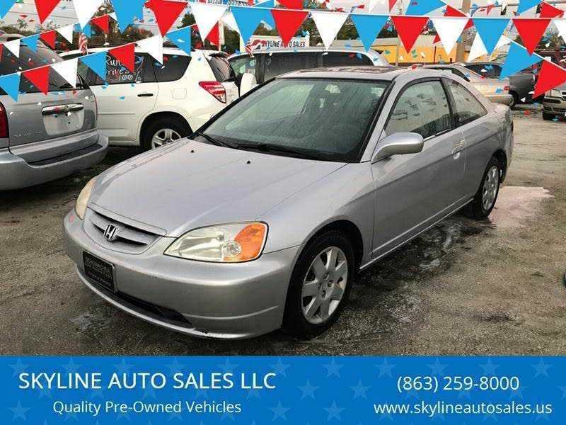 Honda Civic 2002 $2499.00 incacar.com