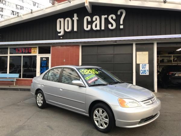 Honda Civic 2003 $3265.00 incacar.com