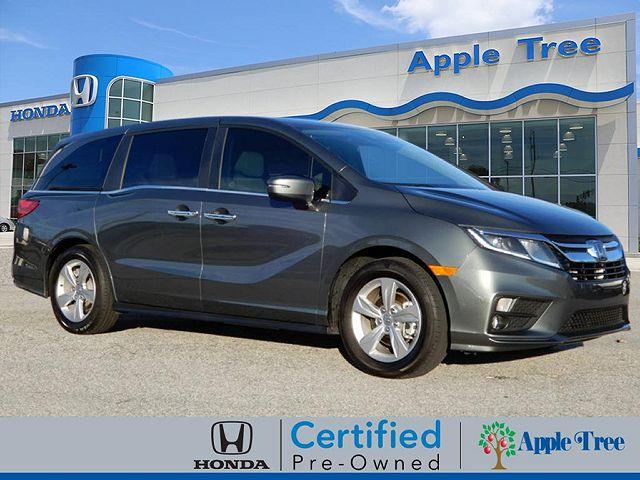 used Honda Odyssey 2018 vin: 5FNRL6H50JB107702