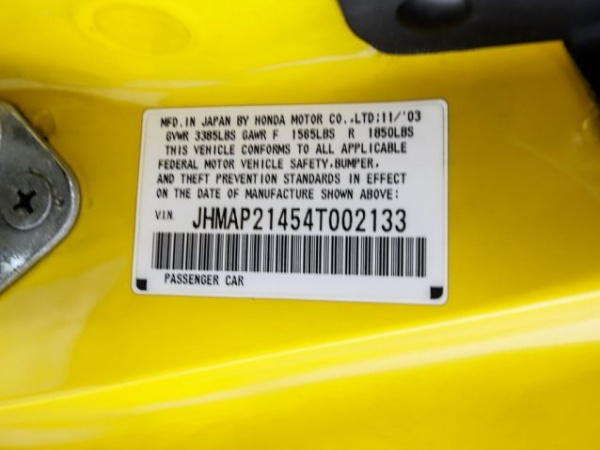 Honda S2000 2004 $22998.00 incacar.com