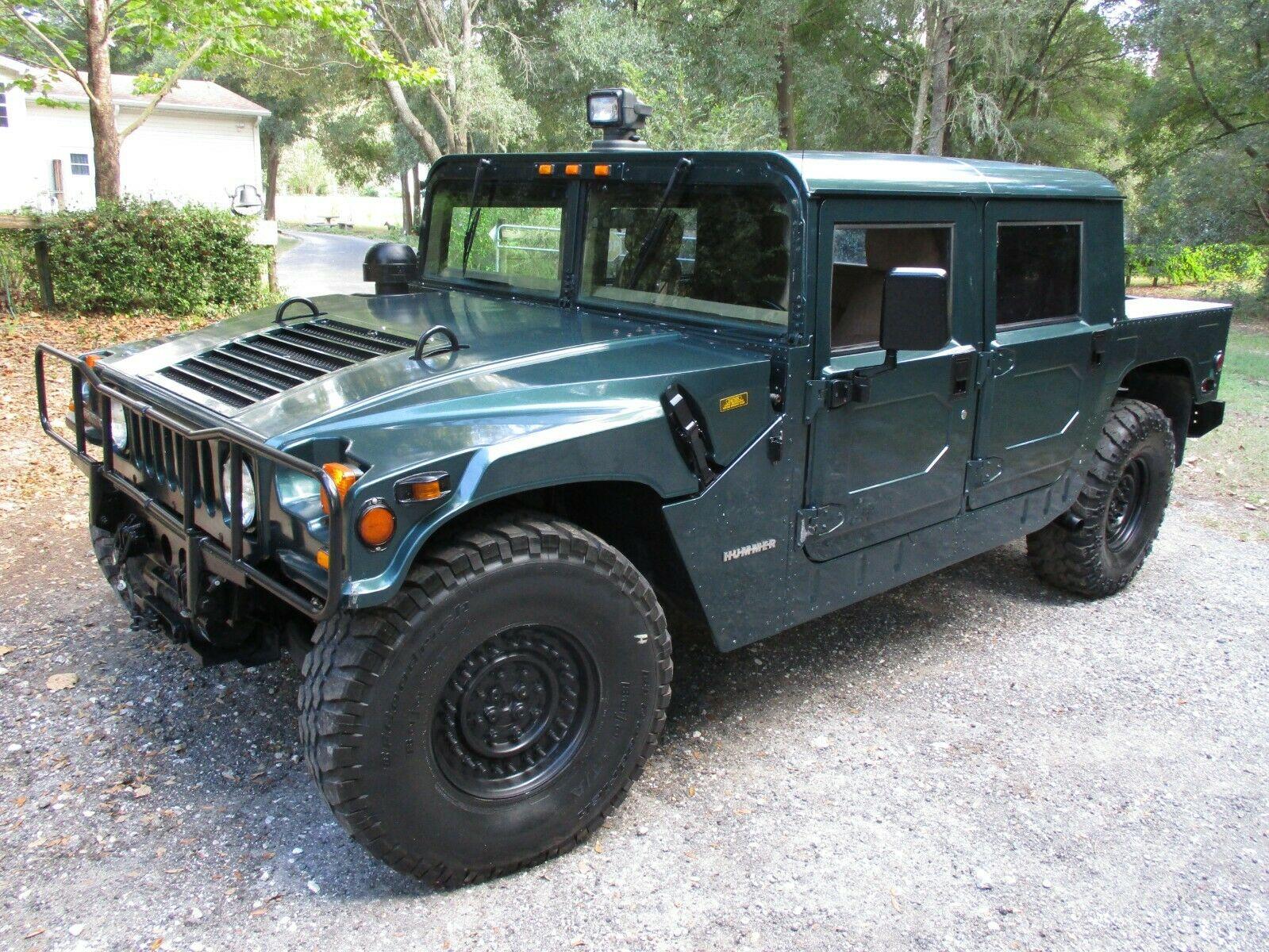 used Hummer H1 1994 vin: 137YA8338RE152552