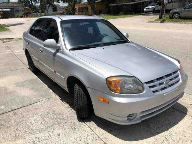 Hyundai Accent 2005 $1290.00 incacar.com