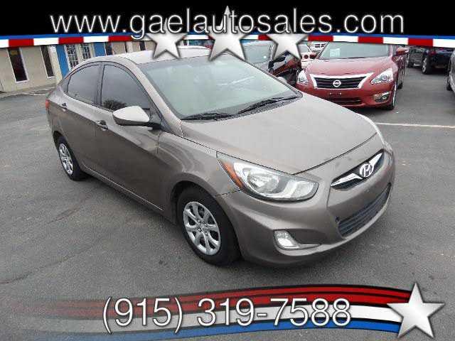 Hyundai Accent 2012 $2995.00 incacar.com