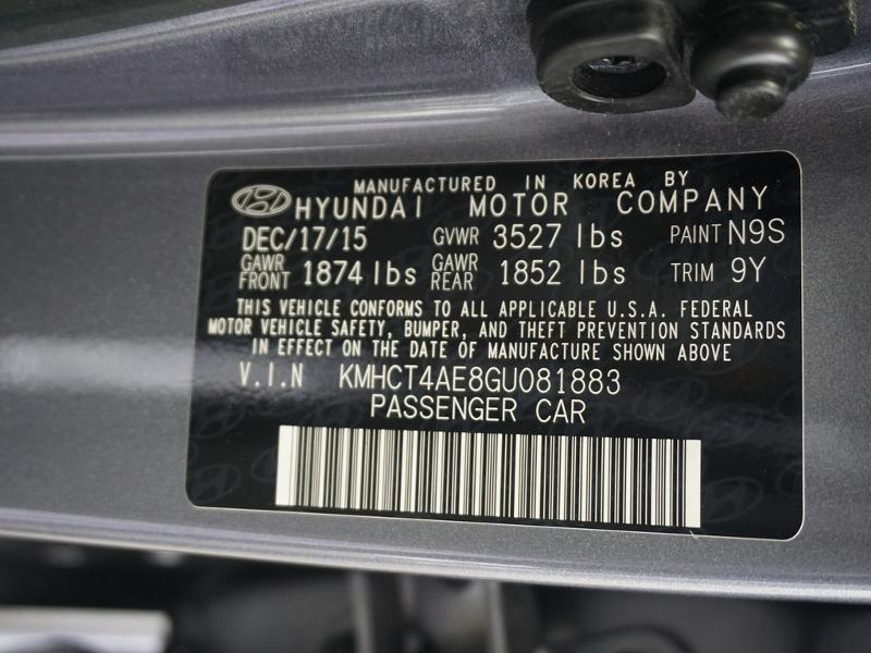 Hyundai Accent 2016 $9957.00 incacar.com