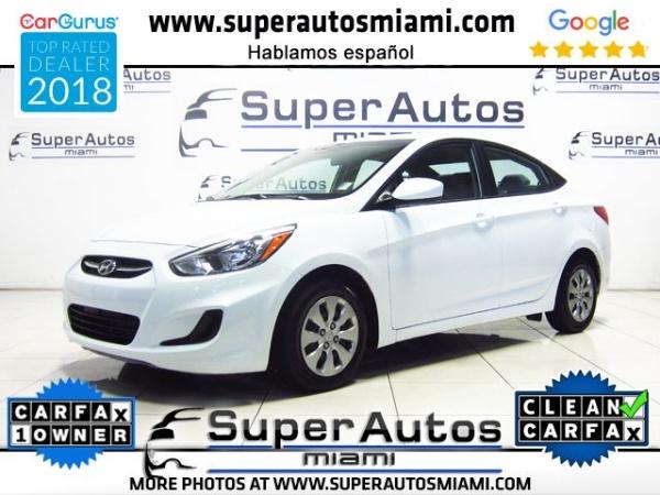 Hyundai Accent 2017 $8986.00 incacar.com
