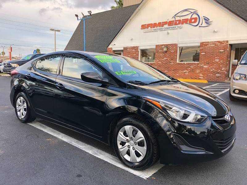 Hyundai Elantra 2016 $8695.00 incacar.com