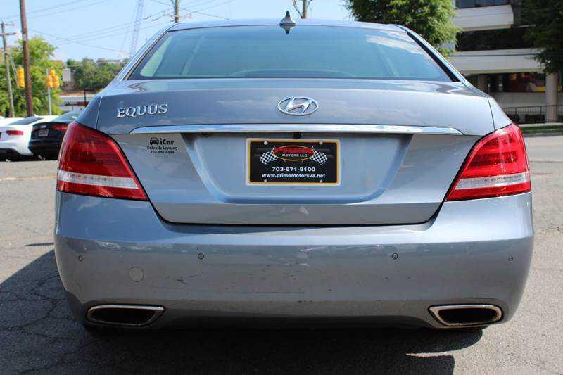 Hyundai Equus 2014 $18595.00 incacar.com