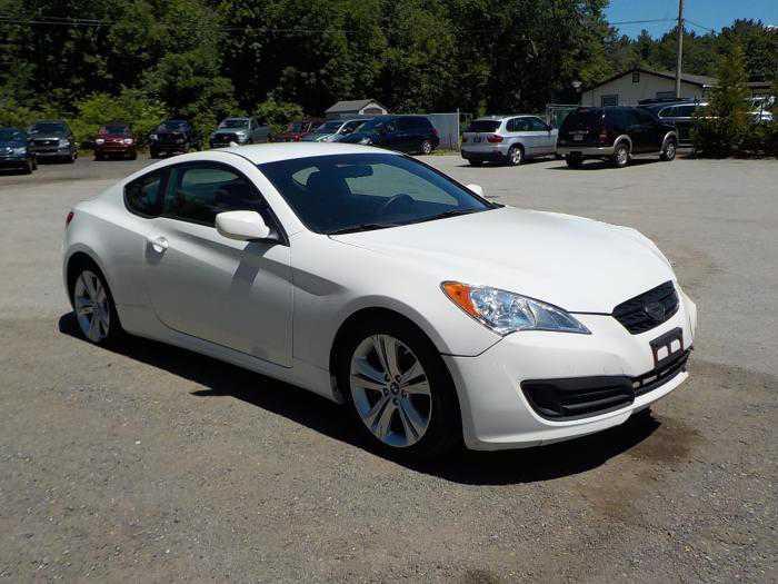 Hyundai Genesis Coupe 2012 $2995.00 incacar.com