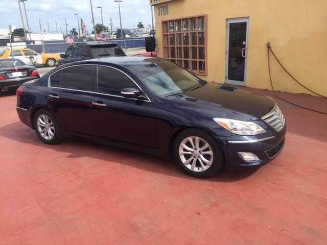 Hyundai Genesis 2012 $9995.00 incacar.com