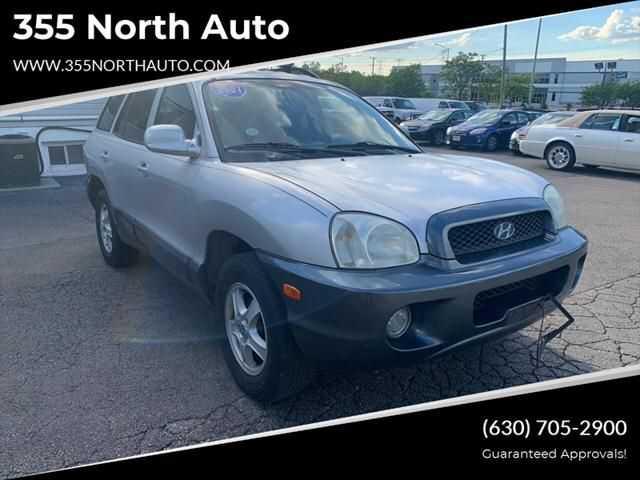 Hyundai Santa Fe 2001 $1295.00 incacar.com