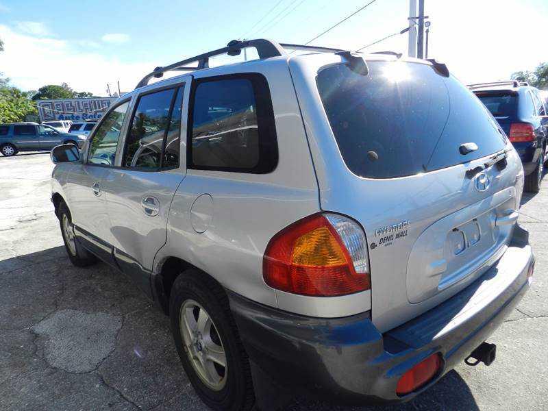 Hyundai Santa Fe 2001 $1800.00 incacar.com