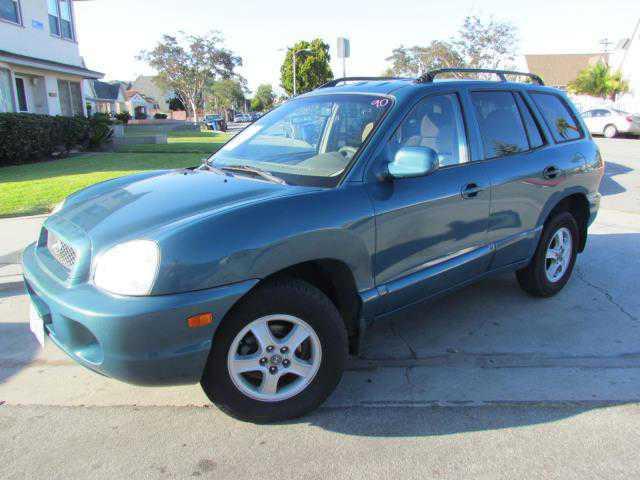 used Hyundai Santa Fe 2003 vin: KM8SB12B33U341666