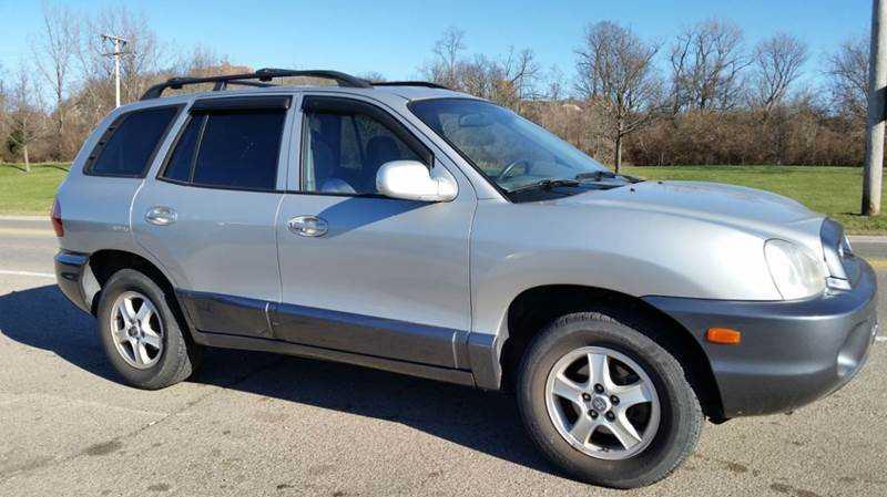 Hyundai Santa Fe 2003 $4995.00 incacar.com