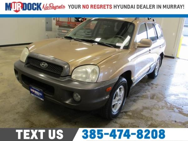 Hyundai Santa Fe 2003 $1994.00 incacar.com