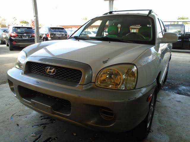 Hyundai Santa Fe 2004 $1295.00 incacar.com