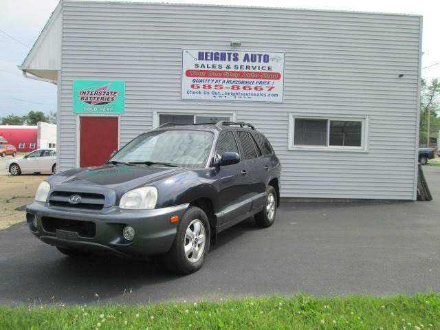 Hyundai Santa Fe 2005 $1479.00 incacar.com