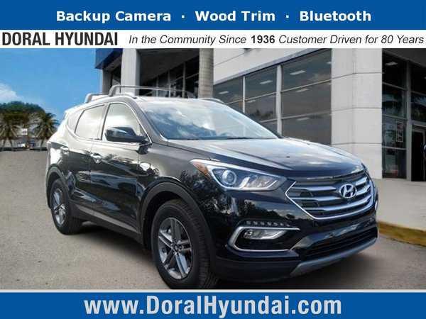 Hyundai Santa Fe 2018 $33258.00 incacar.com