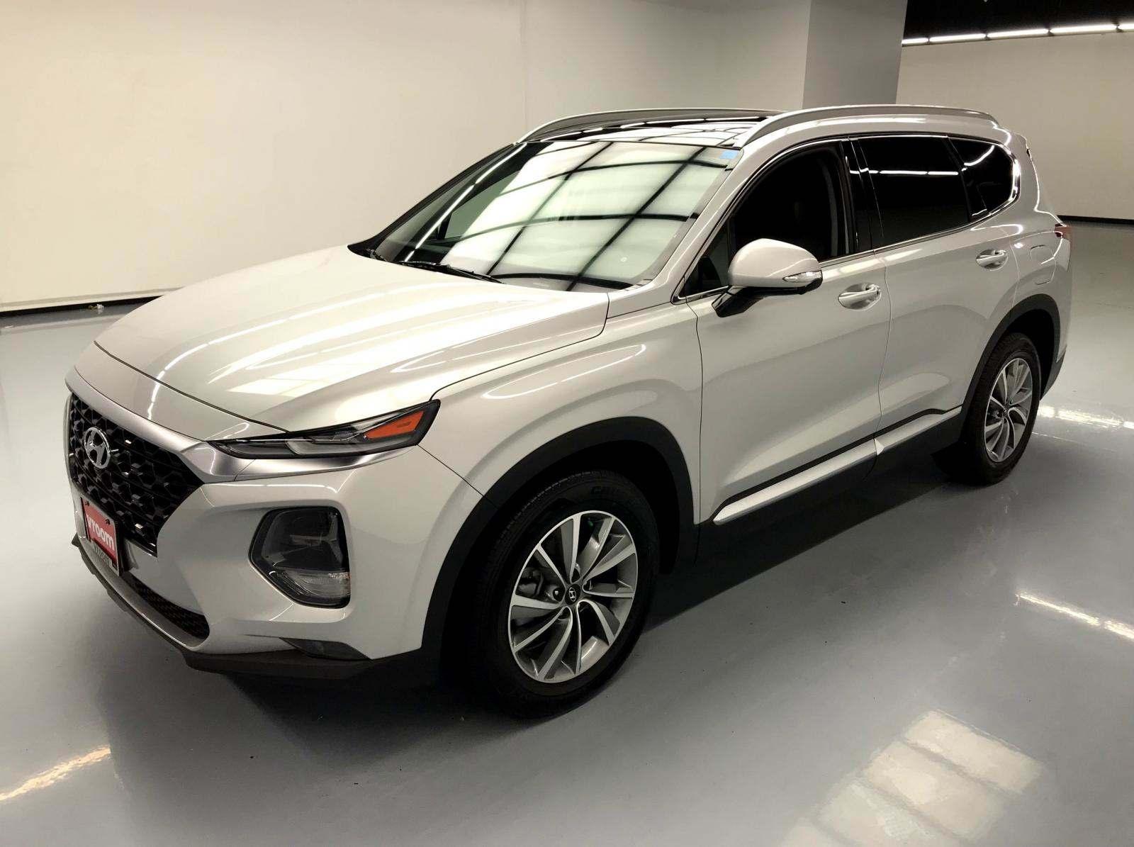 used Hyundai Santa Fe 2019 vin: 5NMS5CAD5KH000463