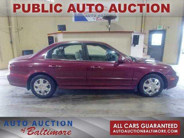 Hyundai Sonata 2003 $1400.00 incacar.com
