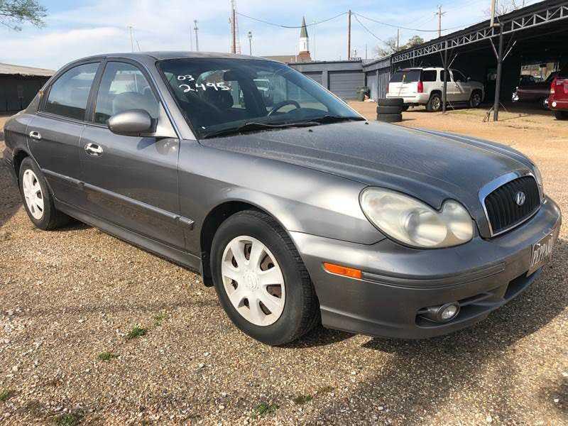 Hyundai Sonata 2003 $2495.00 incacar.com