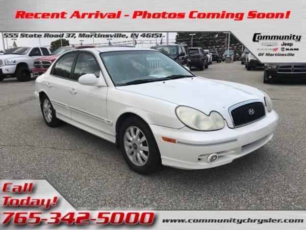 Hyundai Sonata 2003 $1800.00 incacar.com