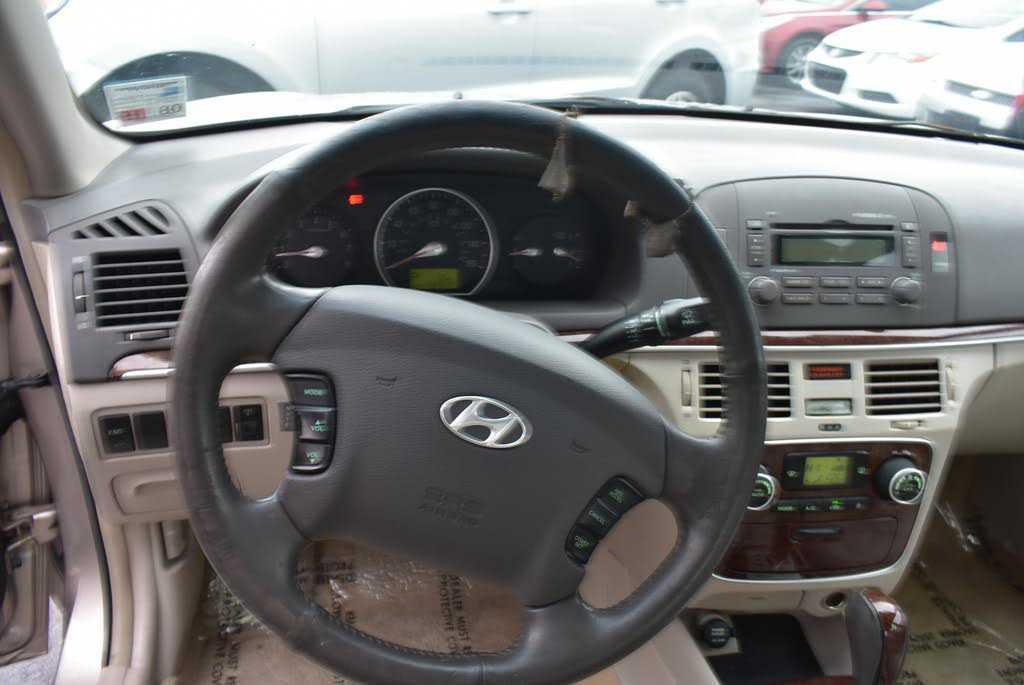 used Hyundai Sonata 2006 vin: 5NPEU46F36H002219