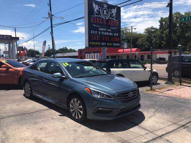 Hyundai Sonata 2015 $13983.00 incacar.com