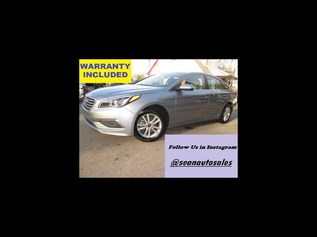 Hyundai Sonata 2016 $8500.00 incacar.com