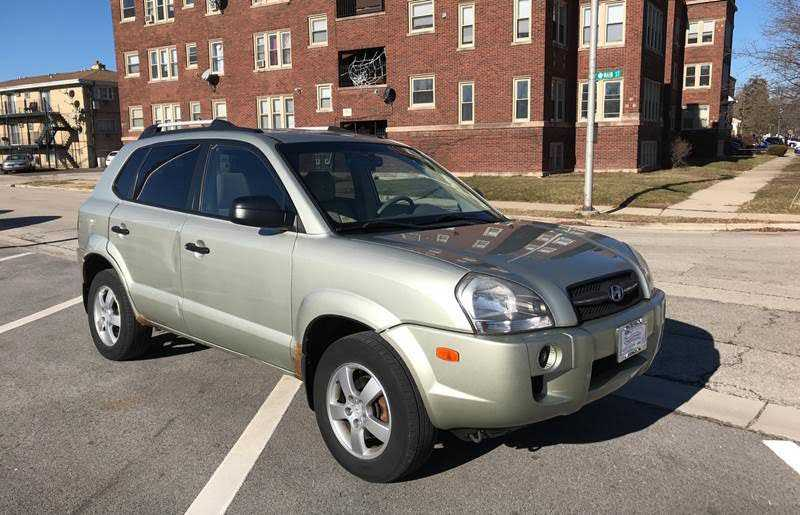 Hyundai Tucson 2007 $2299.00 incacar.com