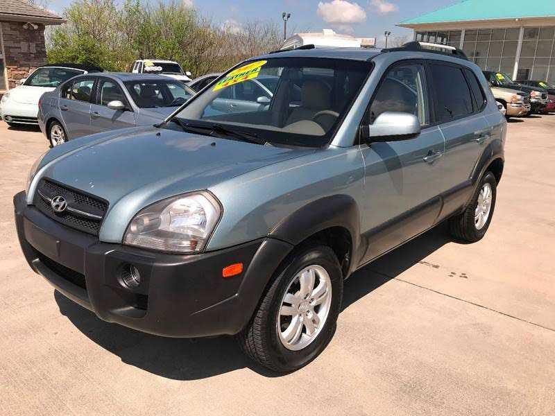 Hyundai Tucson 2007 $6475.00 incacar.com