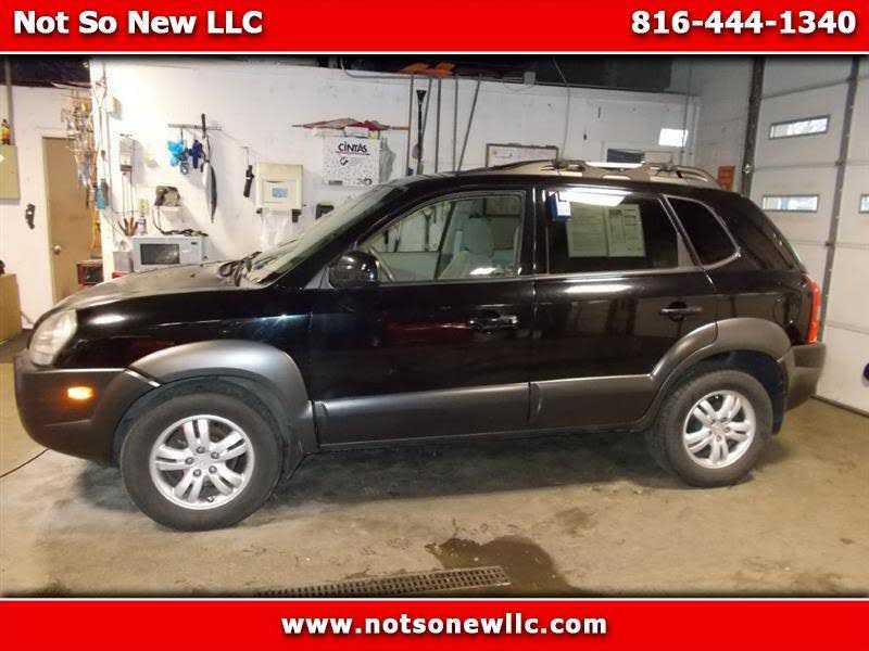 Hyundai Tucson 2008 $2298.00 incacar.com