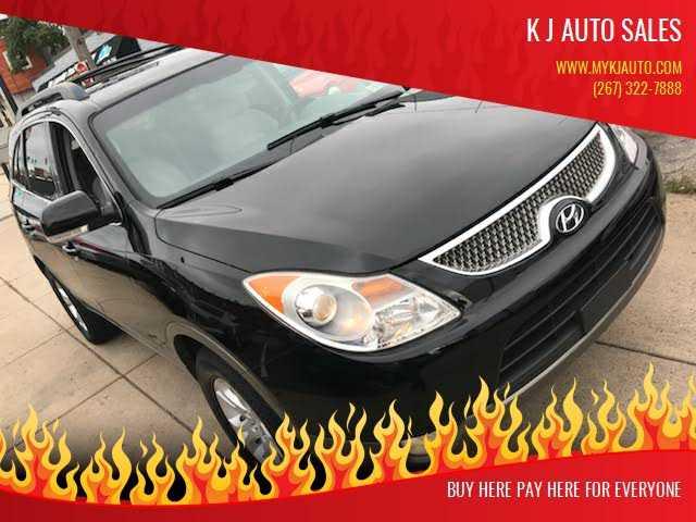 Hyundai Veracruz 2011 $4595.00 incacar.com