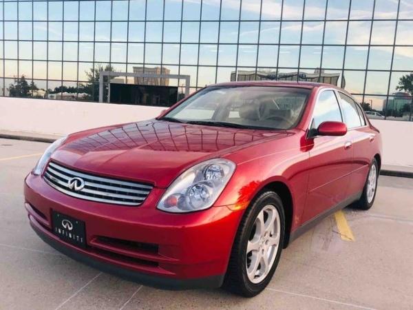 Infiniti G 2003 $10998.00 incacar.com