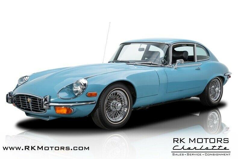 used Jaguar E-Type 1971 vin: 1S70484BW