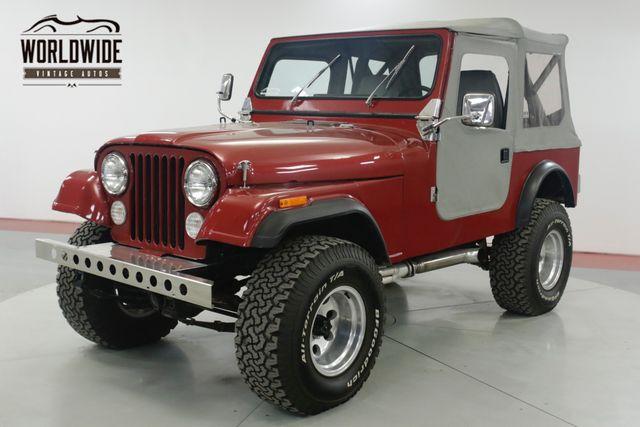 Jeep CJ 1981 $15900.00 incacar.com