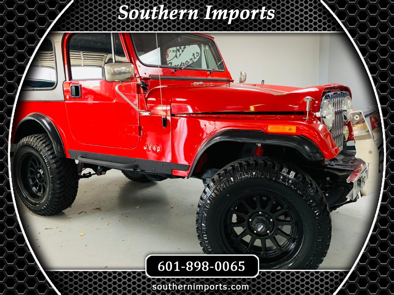 Jeep CJ 1984 $11995.00 incacar.com